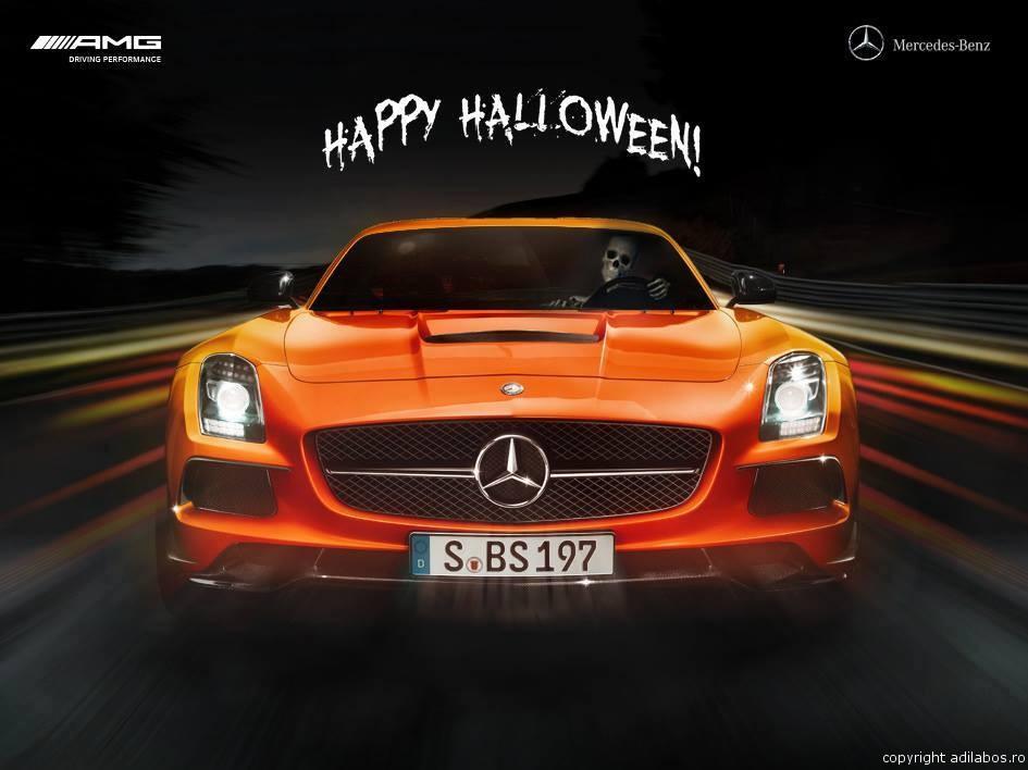 mercedes Halloween