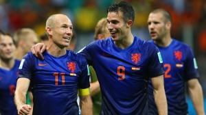 Robben si Van Persie
