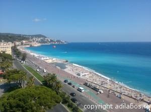 Coasta de Azur de pe Le Meridien1
