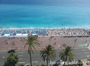 plajă privată publică Nisa