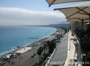 Coasta de Azur de pe Le Meridien3