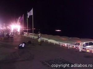 Nisa cântăreţ Promenade des Anglais