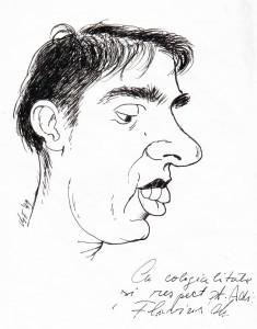 caricatura Flavius Mihes