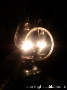 lampa din sat