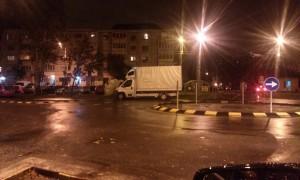 camion giratie noaptea Oradea (1)