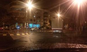 camion giratie noaptea Oradea (3)