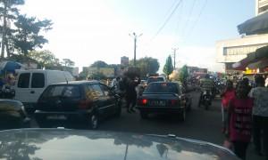 trafic ambuteiaj Antananarivo Madagascar
