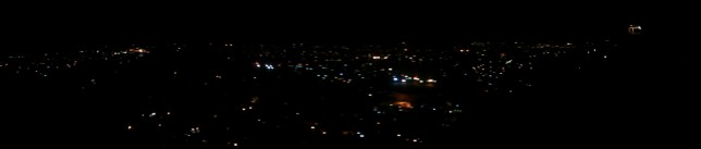 Panoramic Antananarivo noaptea
