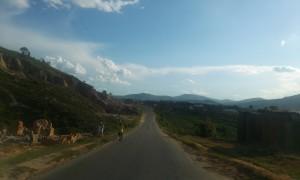 drum prin Madagascar