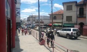 pe strada in Antananarivo