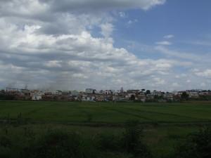 Nori peste oras si camp Madagascar
