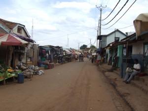 strada drum Antananarivo Madagascar