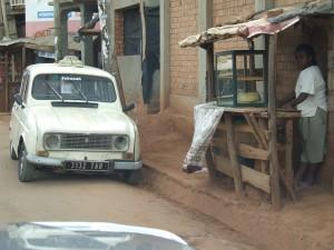 taximetru vechi Antananarivo Madagascar