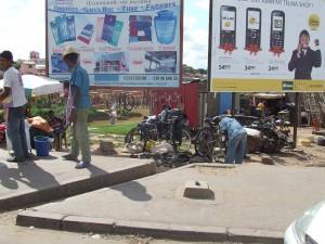 reparatii biciclete Antananarivo Madagascar