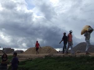 balastru pe mal Antananarivo Madagascar