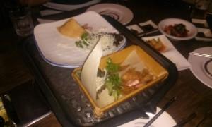 mâncare gătită la un restaurant coreean Antananarivo Madagascar1