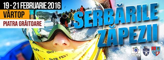 Serbările Zăpezii 2016 Vârtop 4