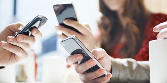 smartphone salut