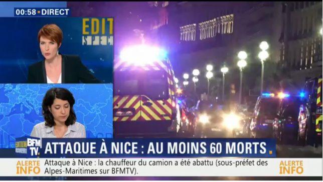 BFMTV atentat Nisa Nice Franța