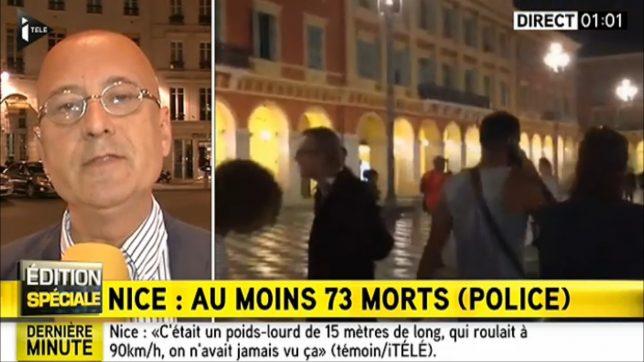 itele atentat Nisa Nice Franța