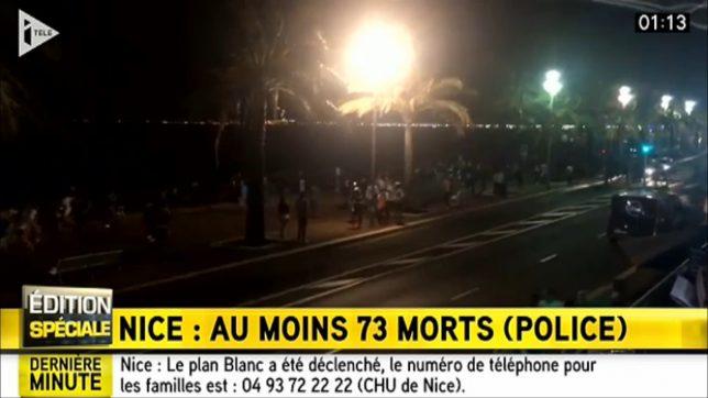 itele1 atentat Nisa Nice Franța