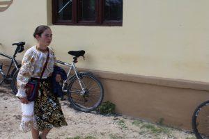 localnici printre biciclete