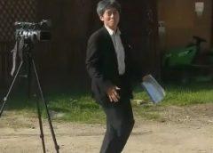 """VIDEO. Cum """"joacă"""" pe ritmuri de higheghe, la """"Pășune Fest"""", un diplomat al Ambasadei Japoniei în România"""